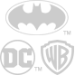 Batman, DC Comics, an Warner Bros. logos