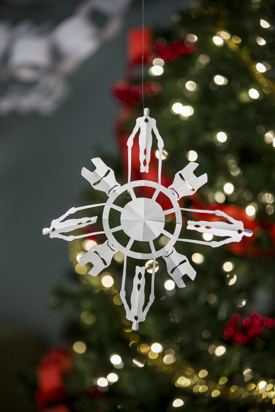 Iron Man Snowflake