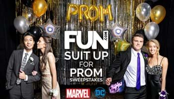 Fun.com Suit Up for Prom Sweepstakes