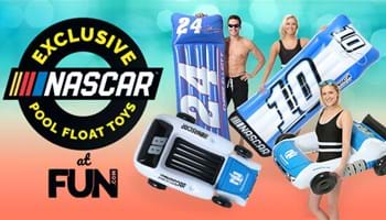 Exclusive NASCAR Pool Float Toys at Fun.com!