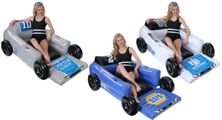 NASCAR pool float lounger chair
