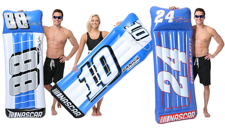 nascar pool float toy