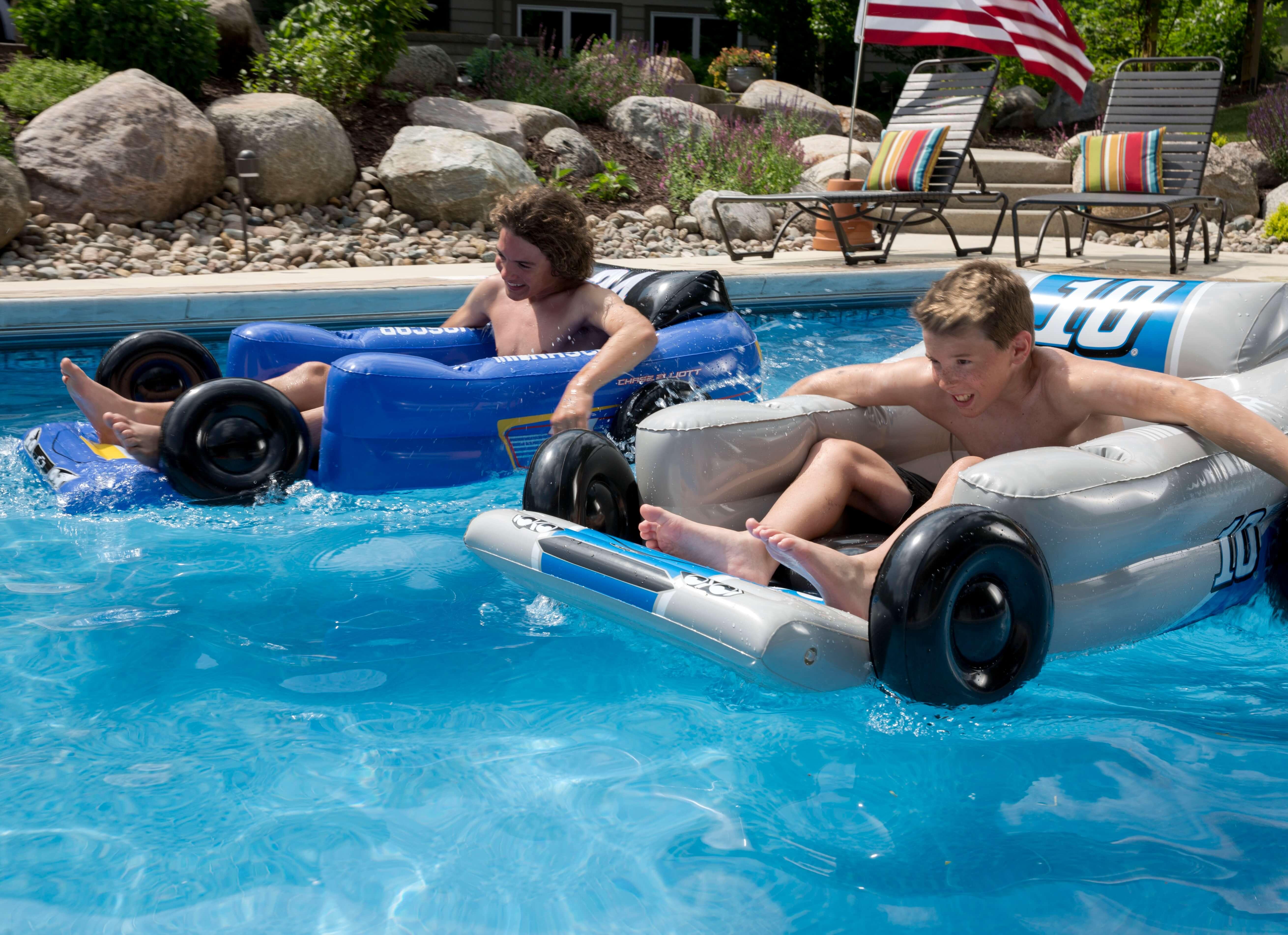 Exclusive NASCAR Pool Float Toys at Fun Fun Blog
