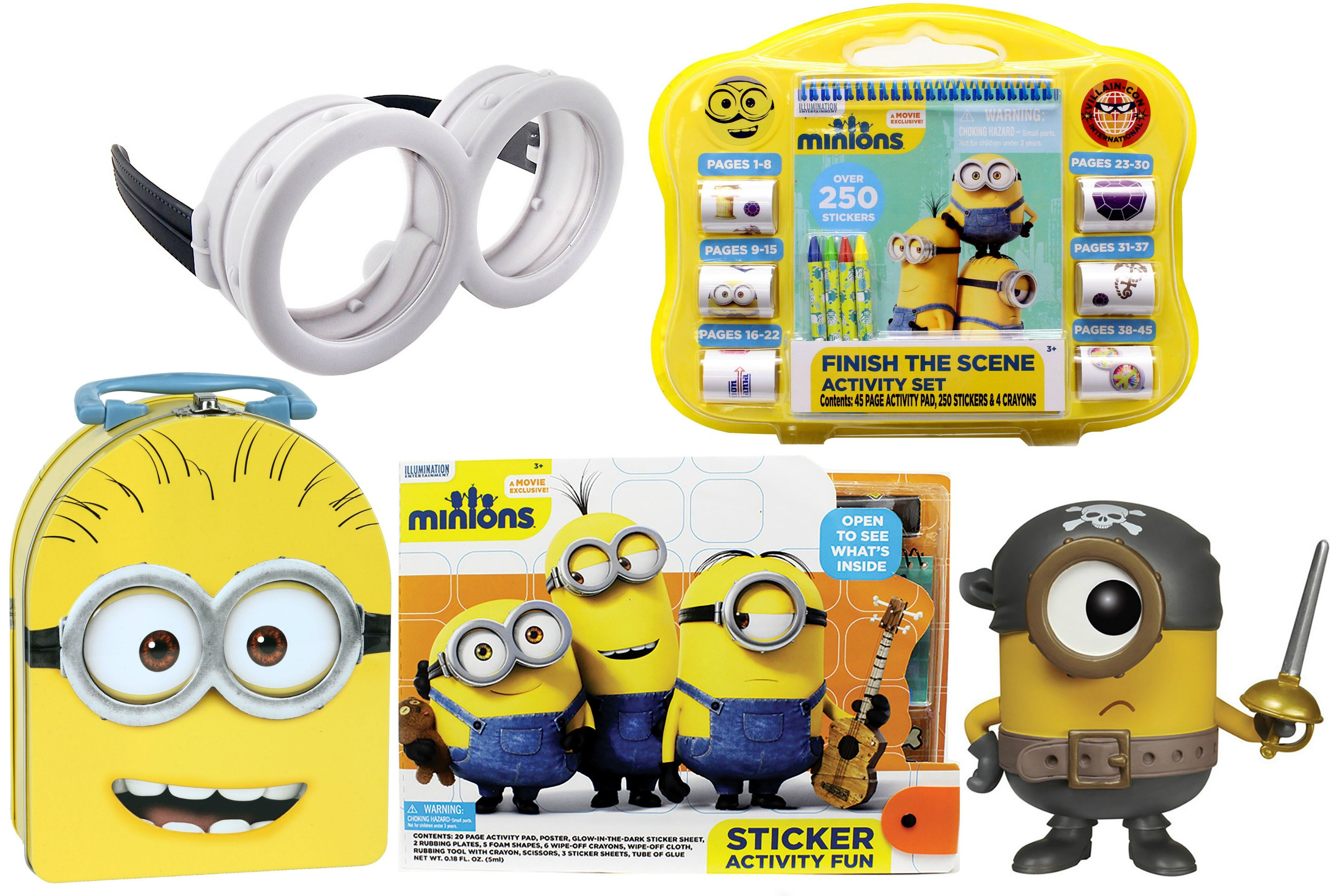 prizes for a minion themed birthday party