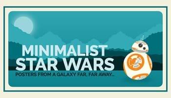 15 Minimalist Star Wars Character Posters