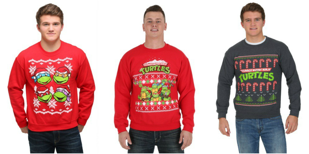 Teenage Mutant Ninja Turtles Ugly Christmas Sweaters