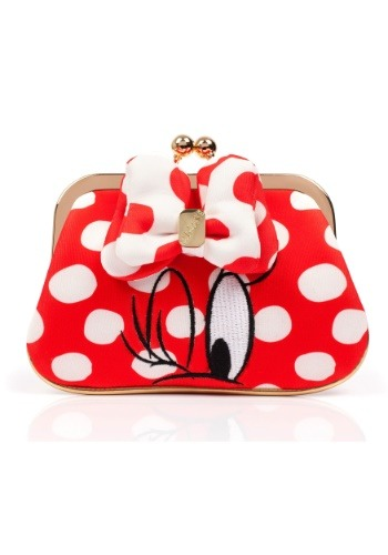 IRREGULAR CHOICE DISNEY MINNIE MOUSE RED POLKA DOT COIN PURSE