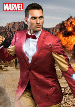 Iron Man Slim Fit Suit Jacket (Alter Ego)