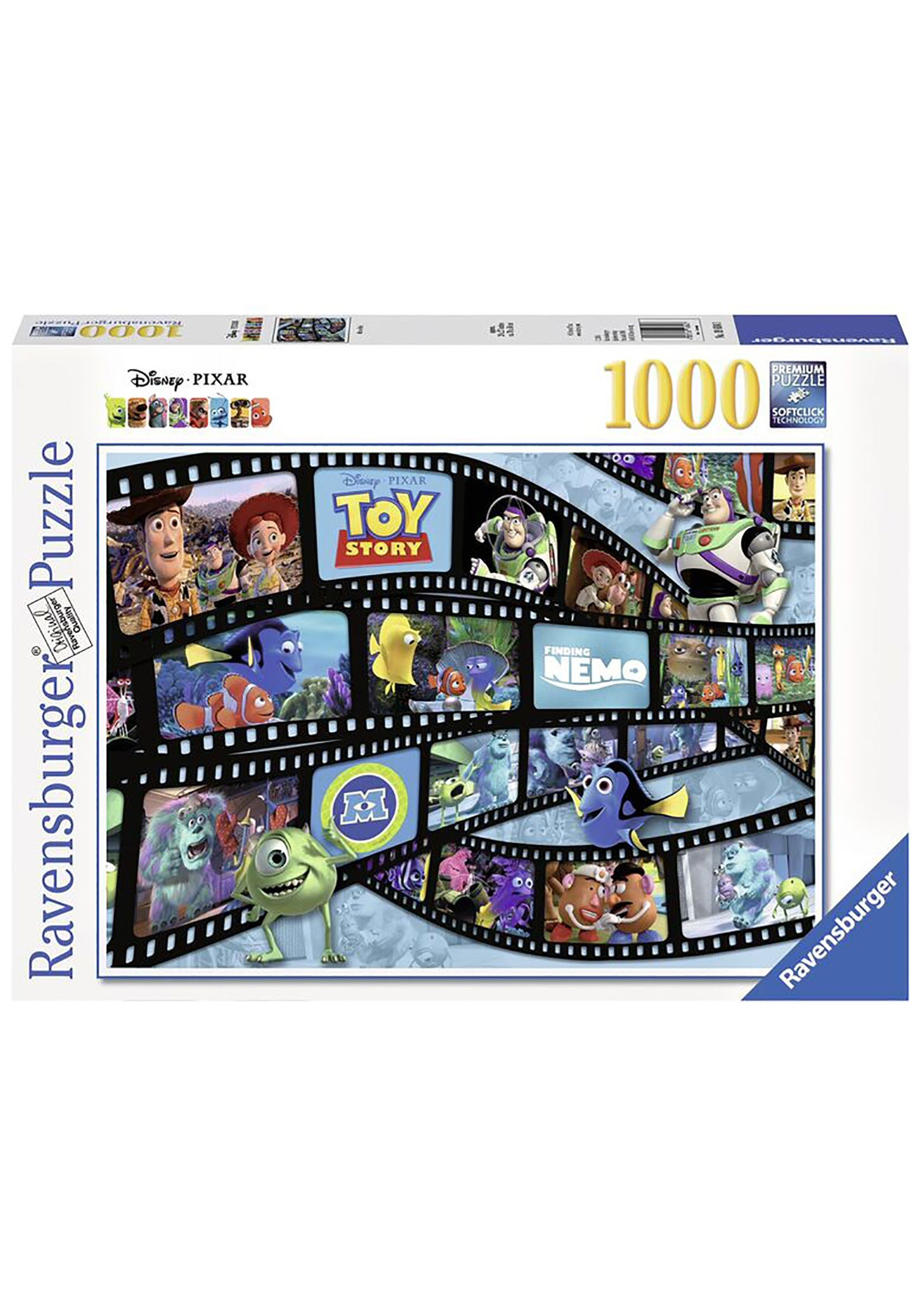 PIXAR MOVIE REEL 1000 PC JIGSAW PUZZLE