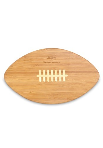 NFL SEATTLE SEAHAWKS 'TOUCHDOWN!' FOOTBALL CUTTING BOARD