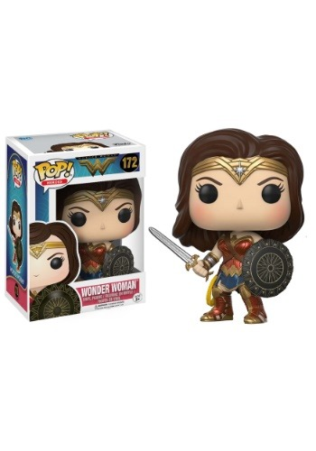 WONDER WOMAN POP! VINYL FIGURE