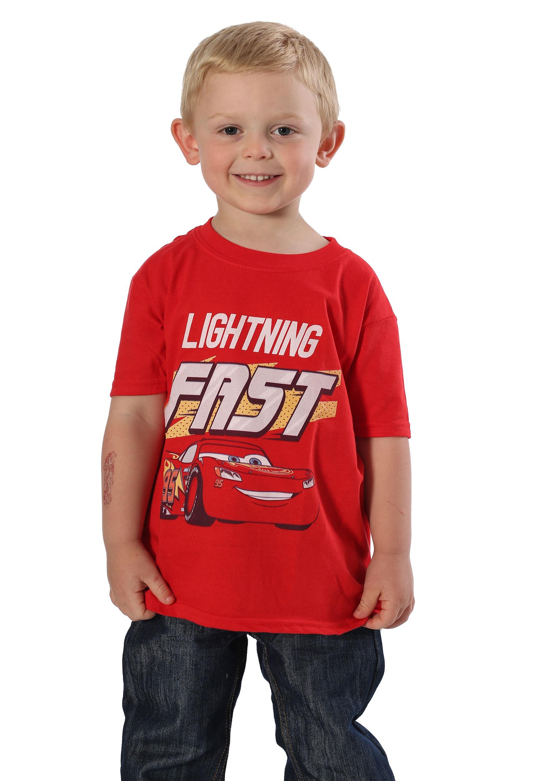 Disney Cars 3 Lightning Fast Boys T-Shirt
