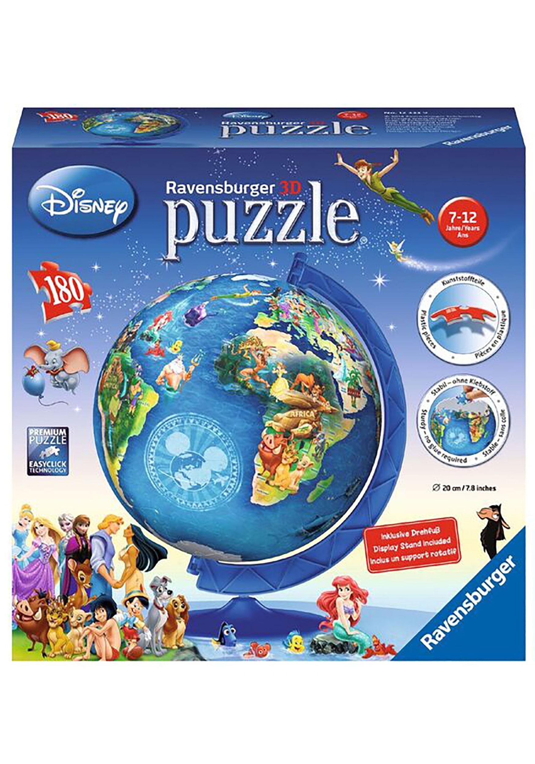 Disney Globe 180 pc 3D Puzzle