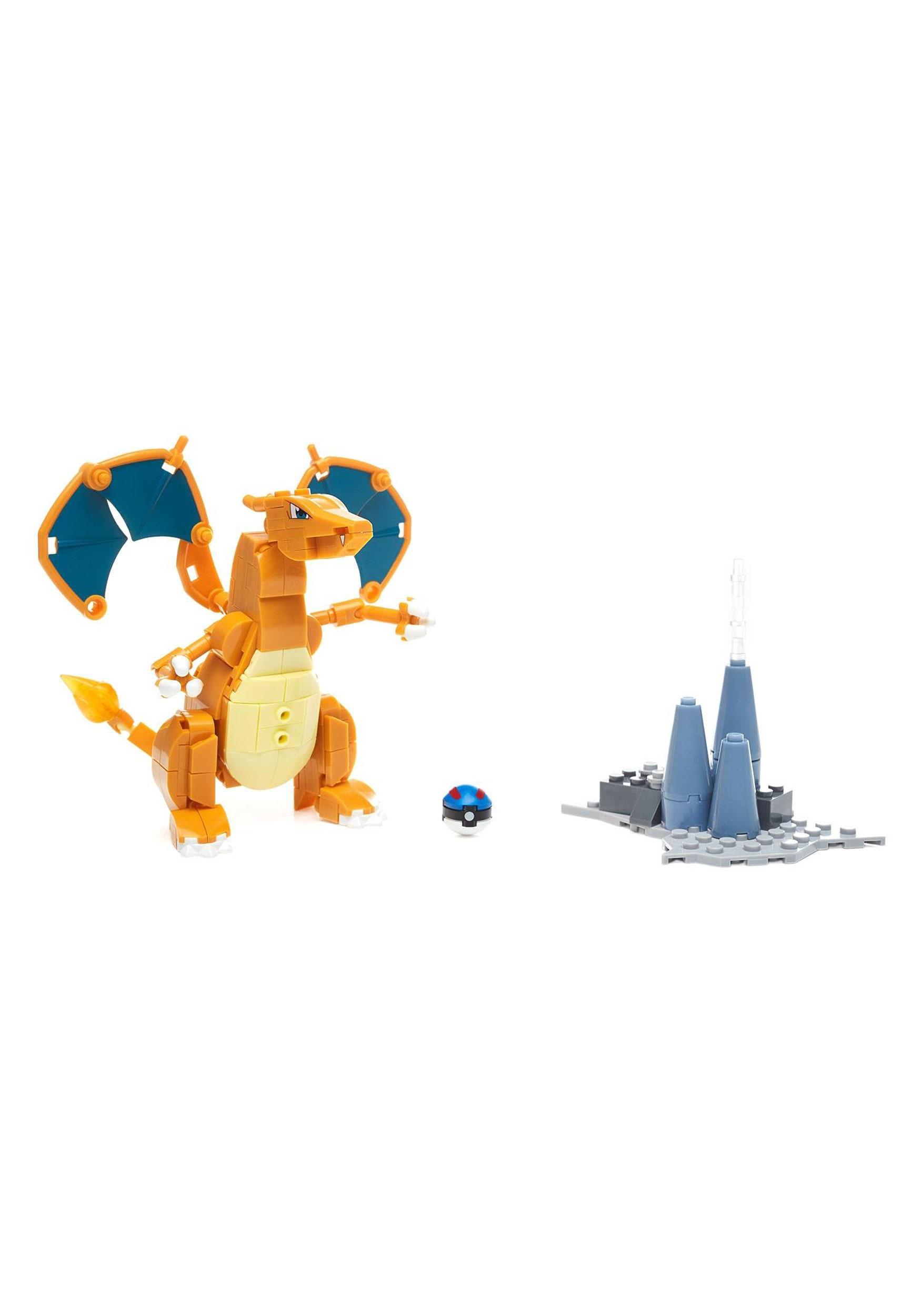 Mega Bloks Pokemon Charizard Building Set