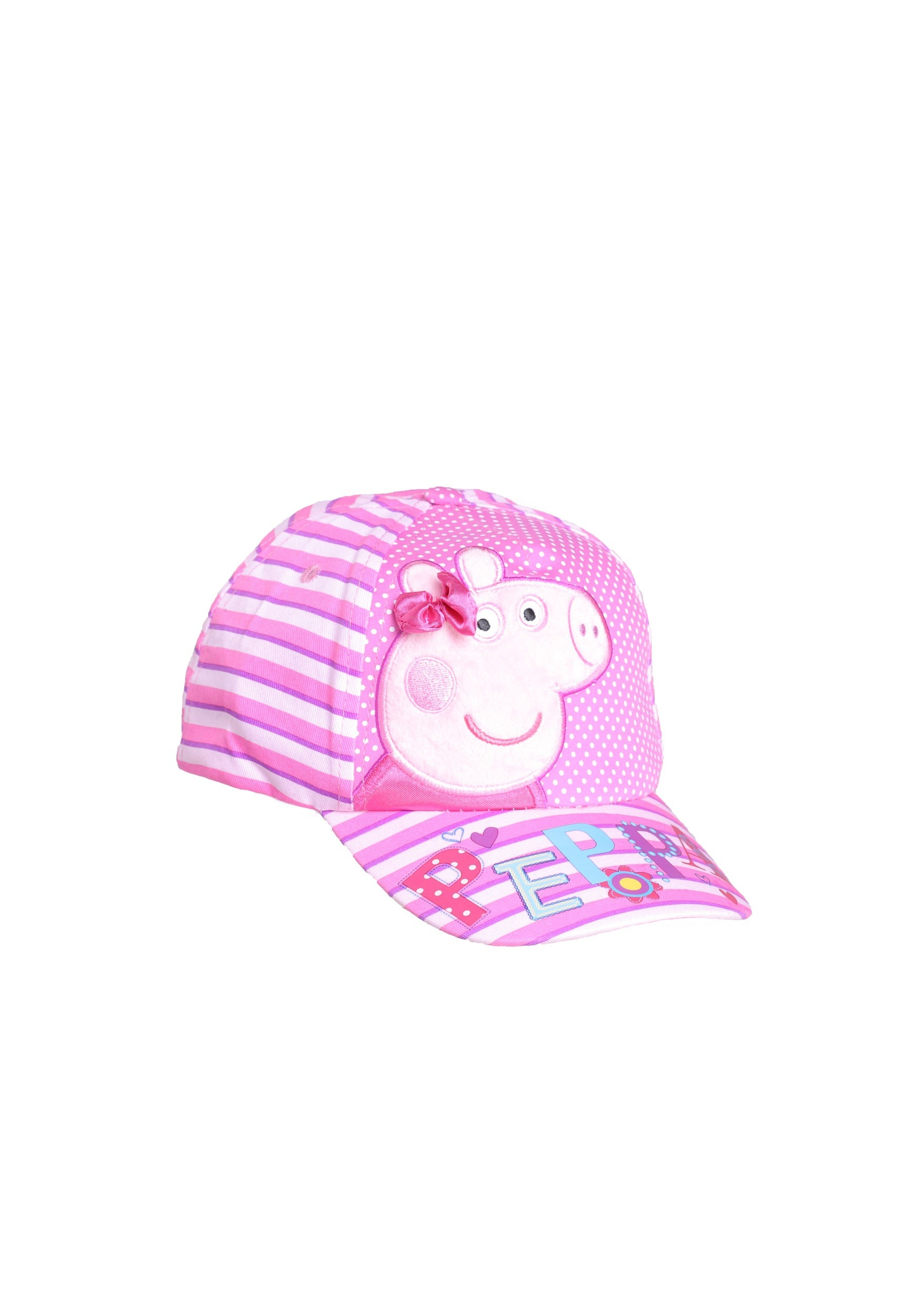 Peppa Pig Satin Bow Embroidered Child Baseball Cap