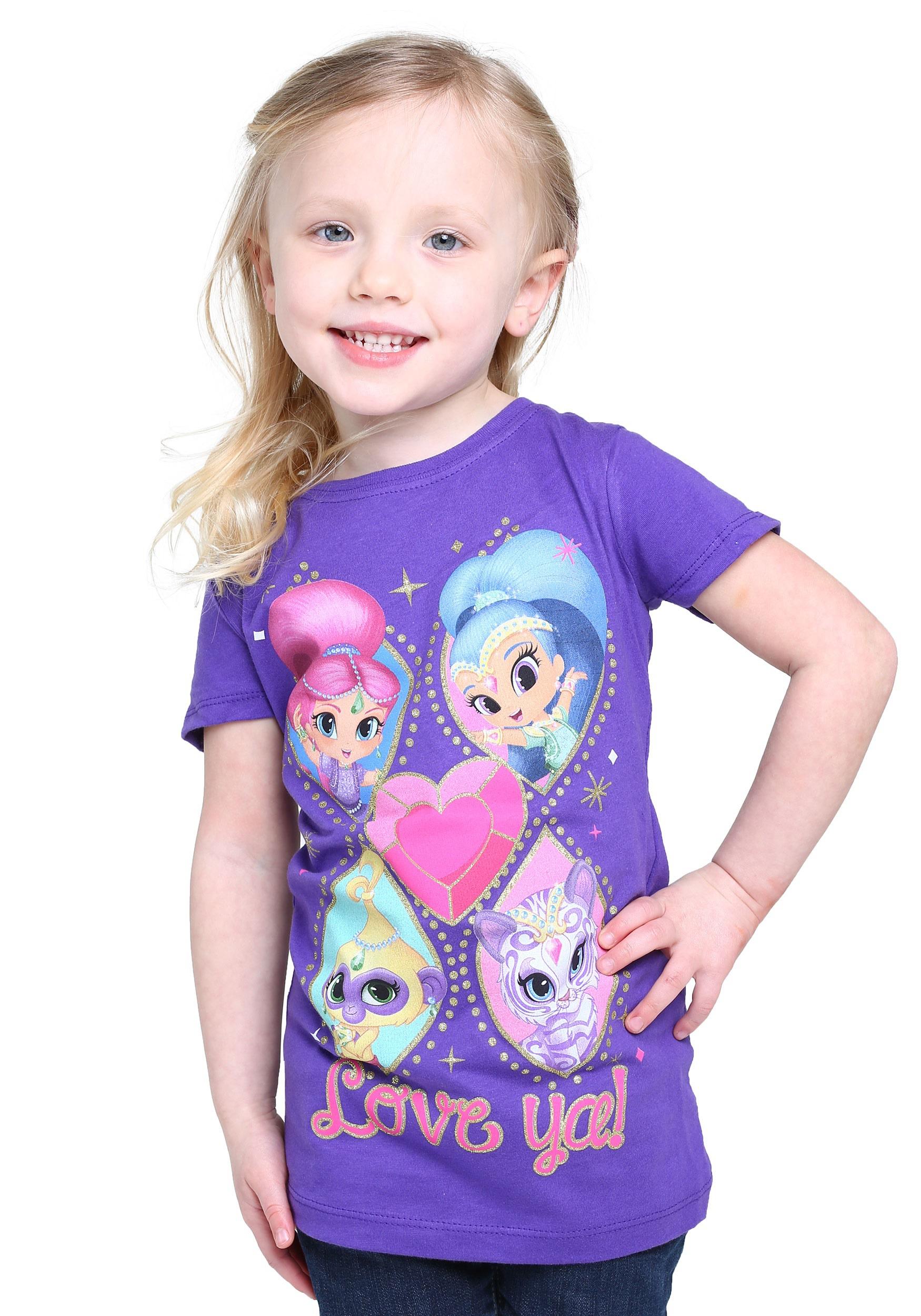Girls Shimmer & Shine Shine On T-Shirt