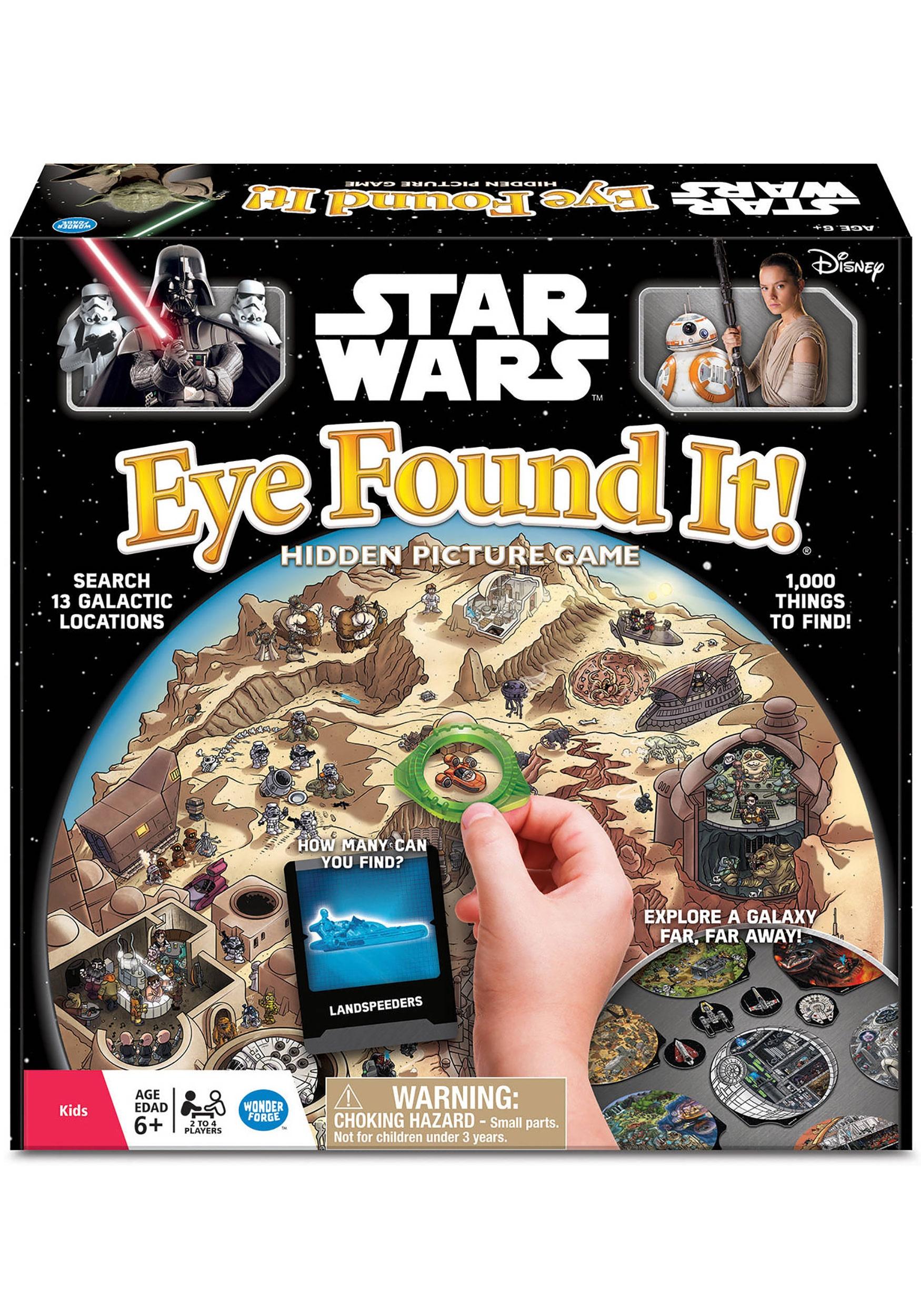 Star Wars Eye Found It! Game