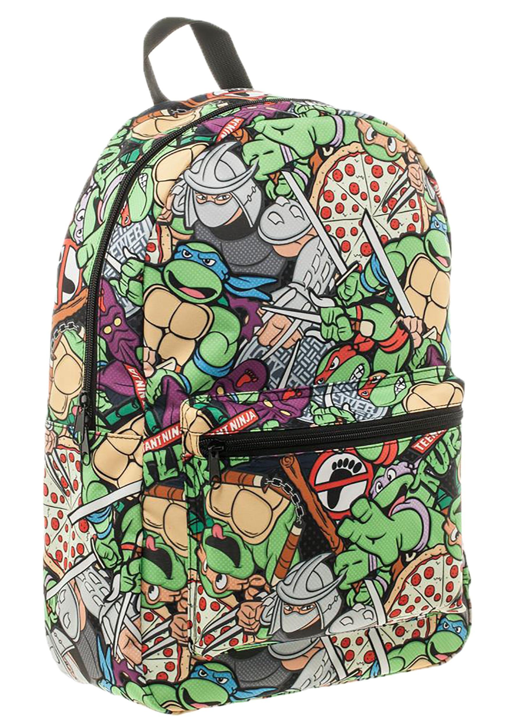 Teenage Mutant Ninja Turtles Cartoon Backpack