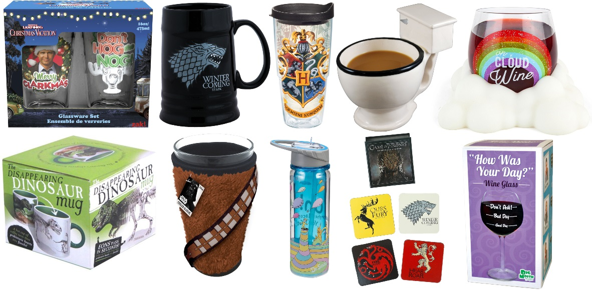 Unique Drinkware Gifts