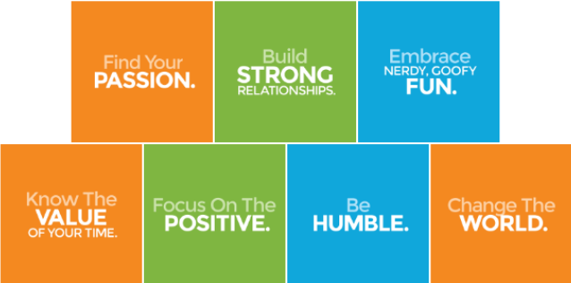 Fun.com 7 Core Values