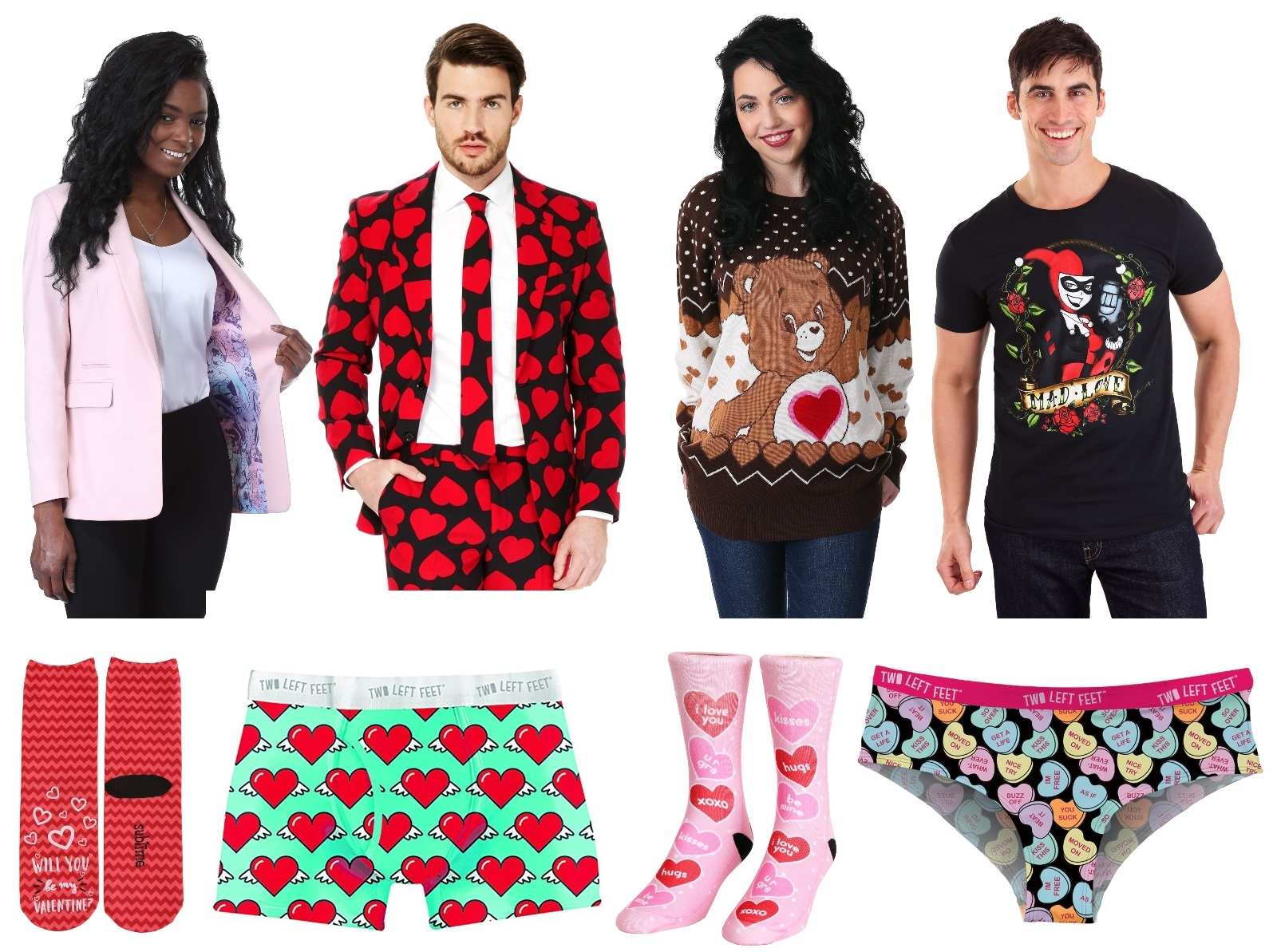 Valentine's Day Clothes and Apparel