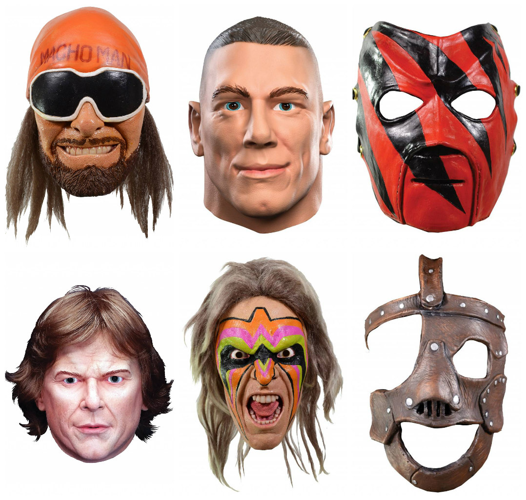 WWE Gifts Masks