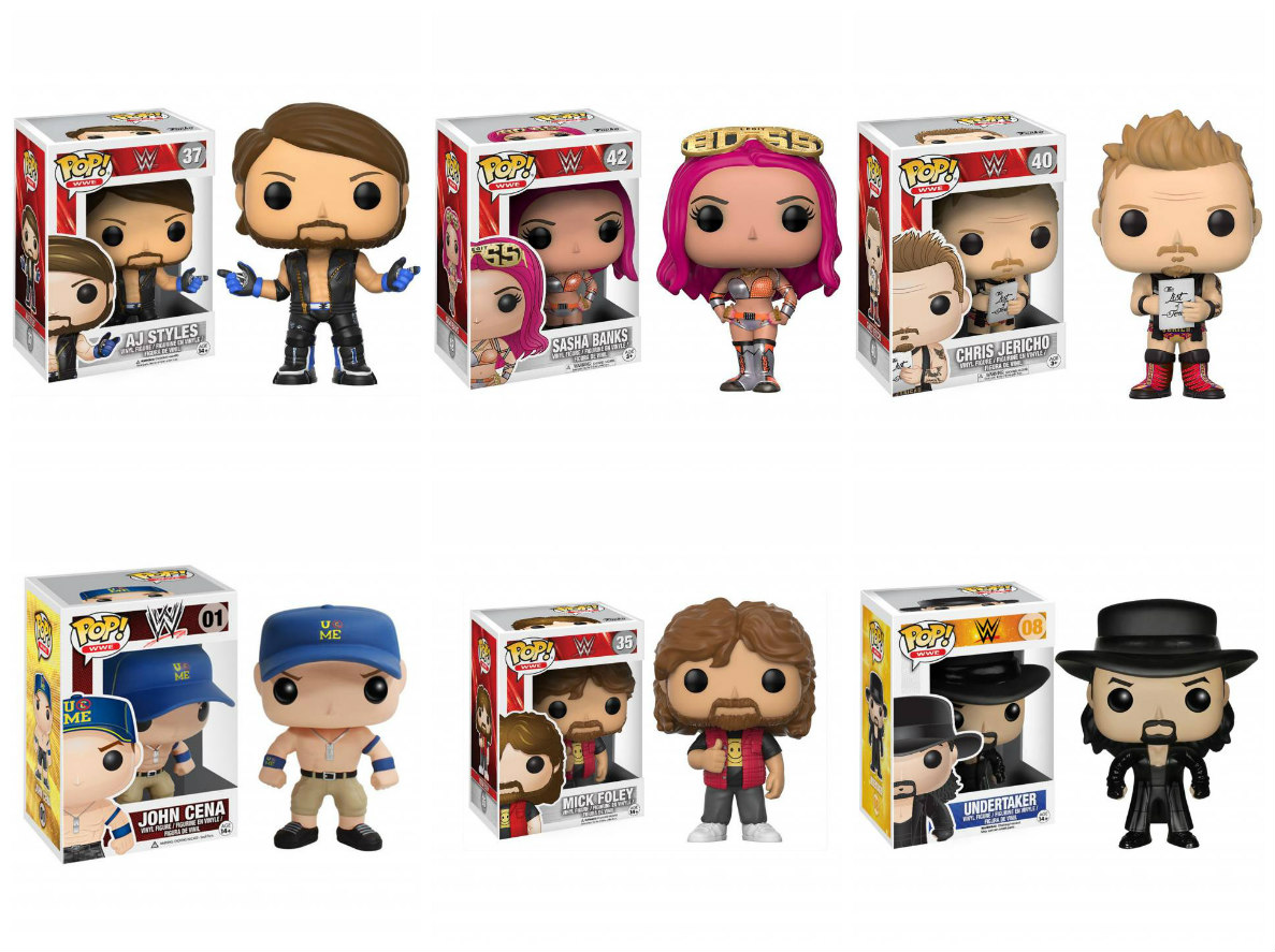 WWE Funko POP Vinyl Figures