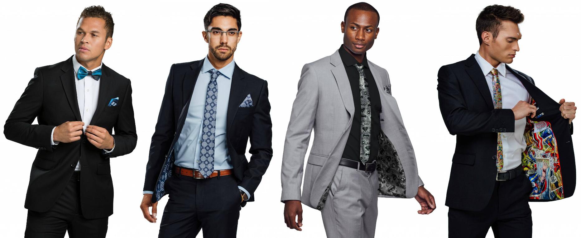 Secret Identity Men's Prom Suits