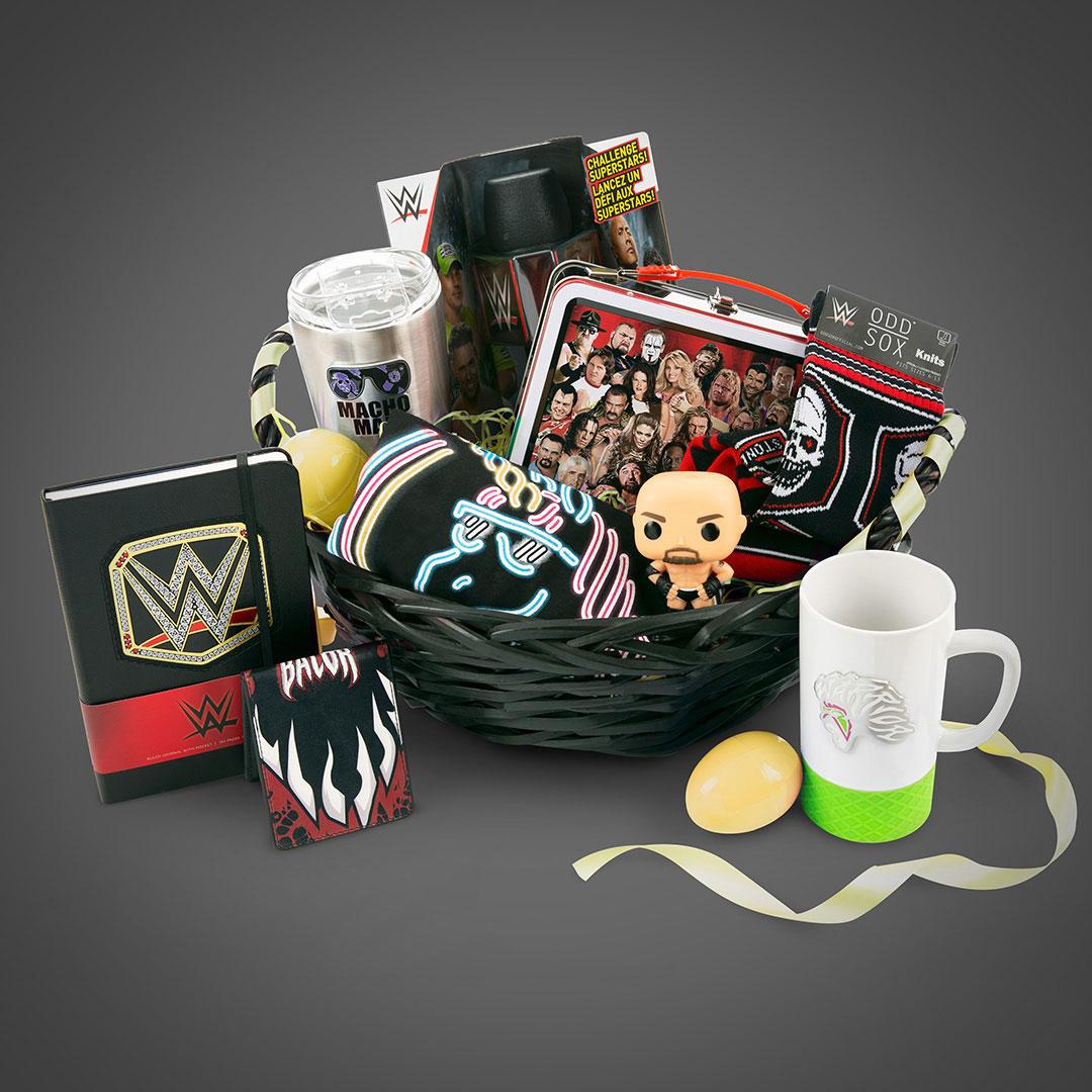 WWE Easter Basket