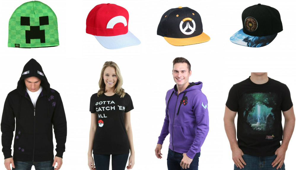 Video Game Shirts and Hats