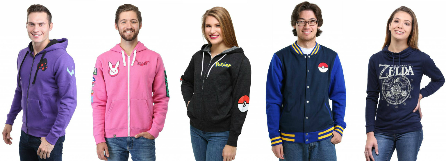 Video Games Merch Hoodies Jackets Sweaters
