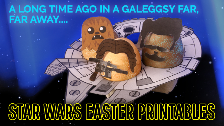 A Galeggsy Far, Far Away: Star Wars Easter Printables