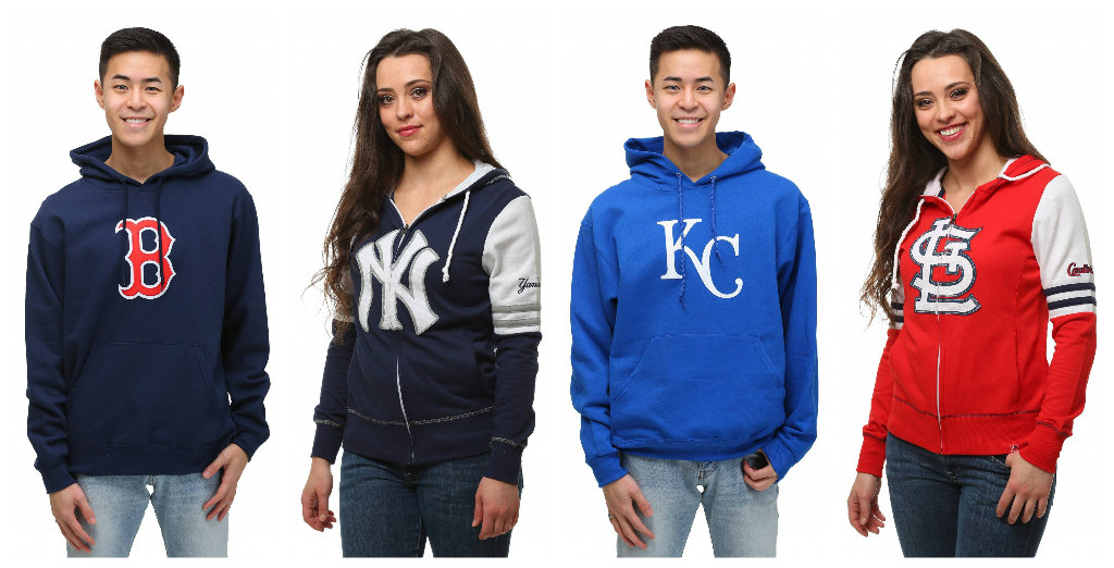 MLB Sweatshirts and Hoodies