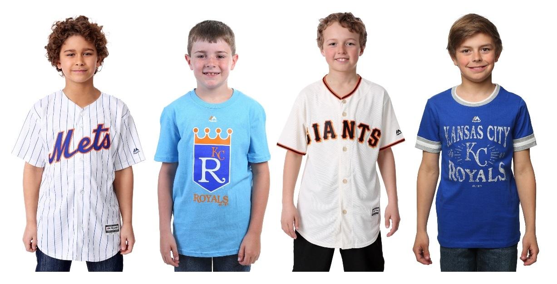 Kids' MLB Jerseys and Tees
