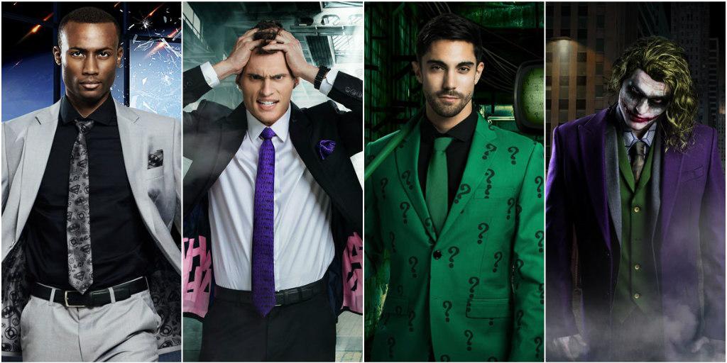 DC Comics Men's Suits