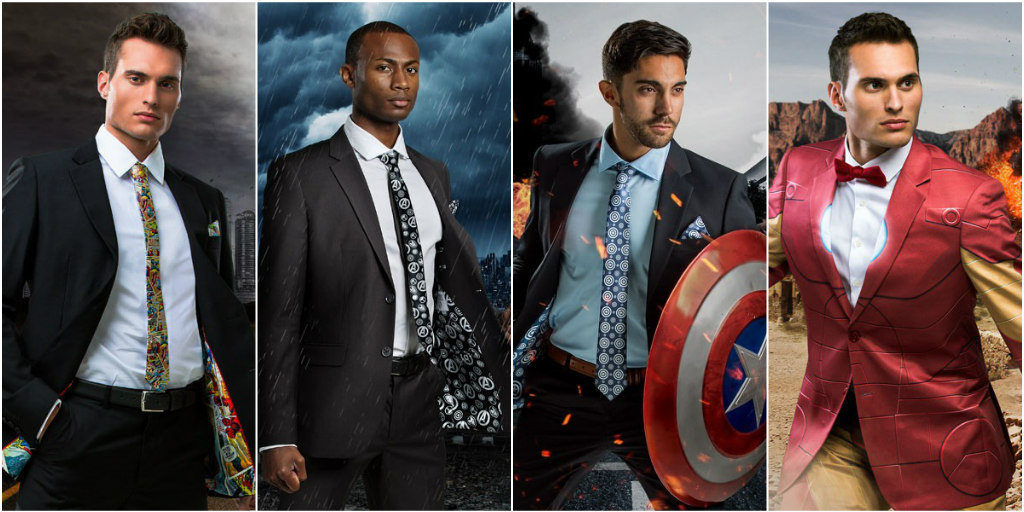 Marvel Comic Men's Suits
