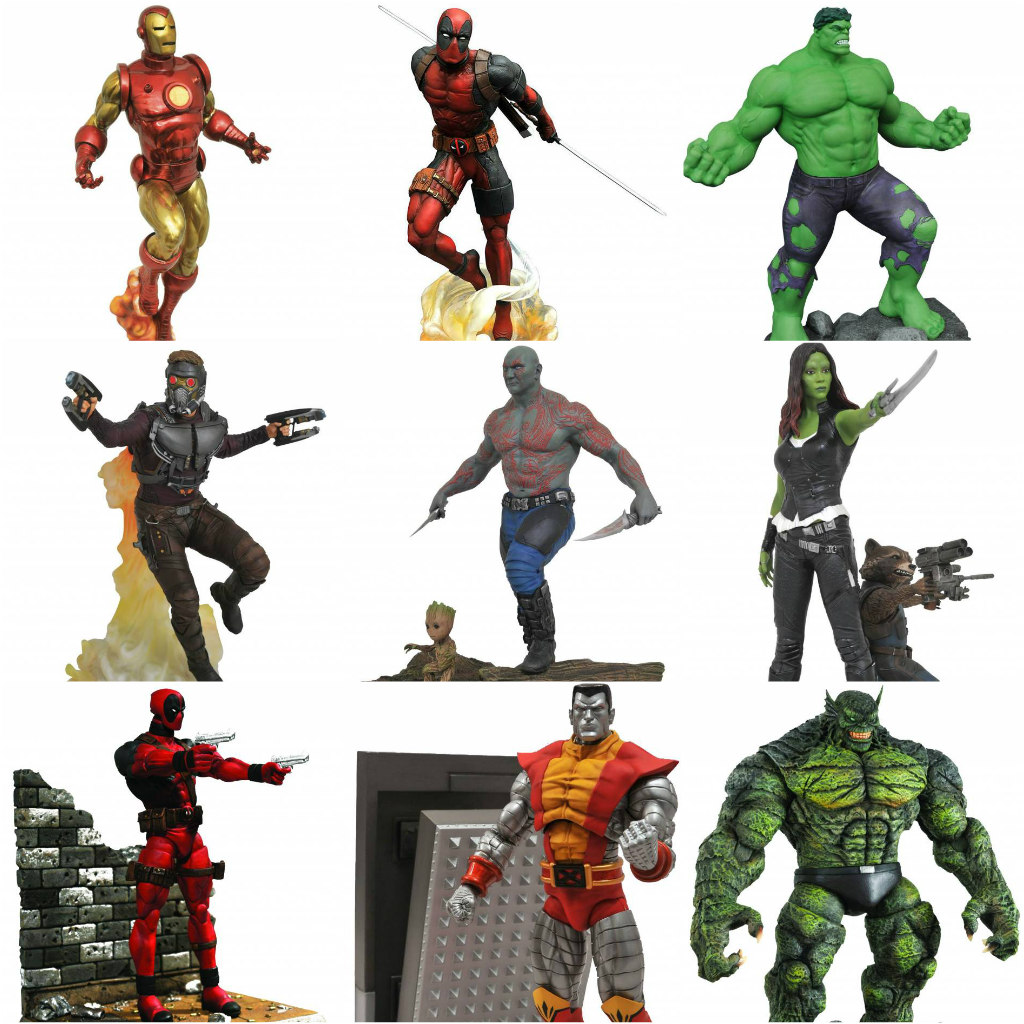 Marvel Comics Statues and Action Figures