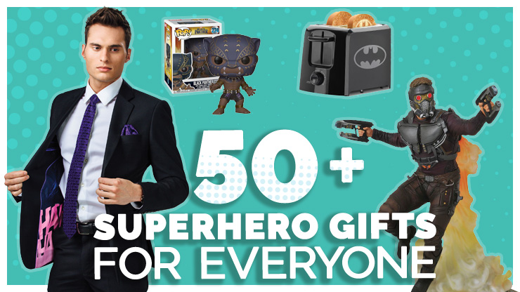 50+ Superhero Gifts for Everyone