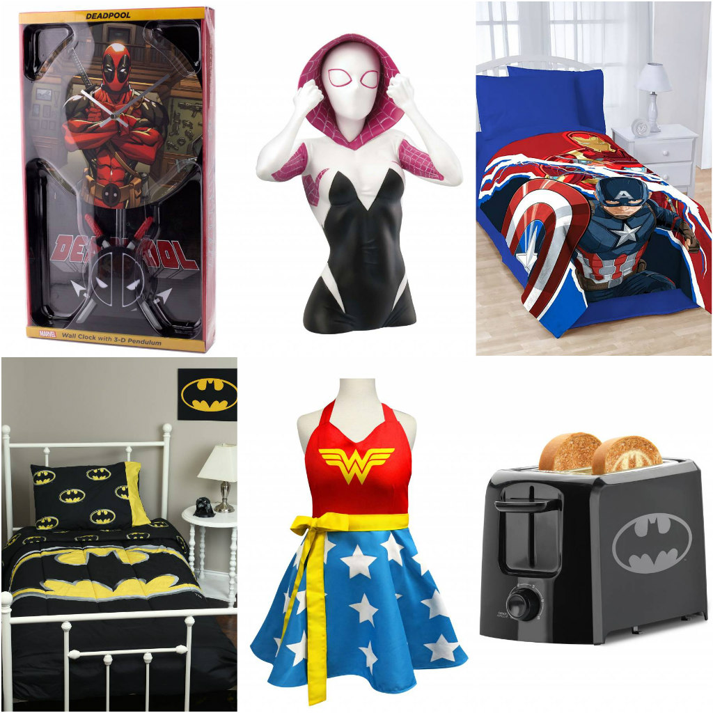 Superhero Home and Office Gifts