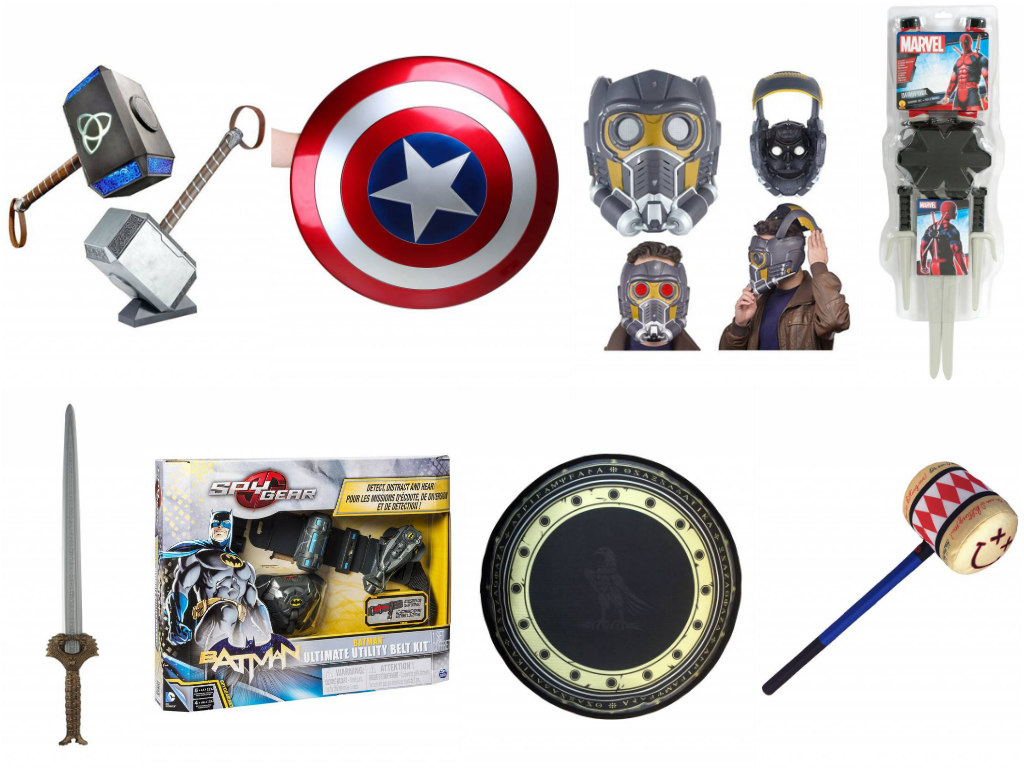 Superhero Props and Collectibles