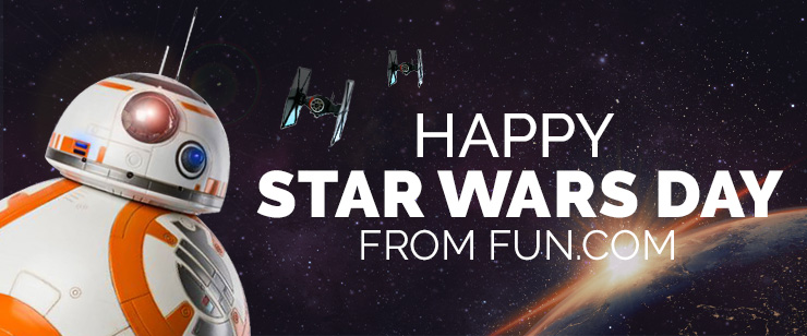 Happy Star Wars Day from Fun.com!