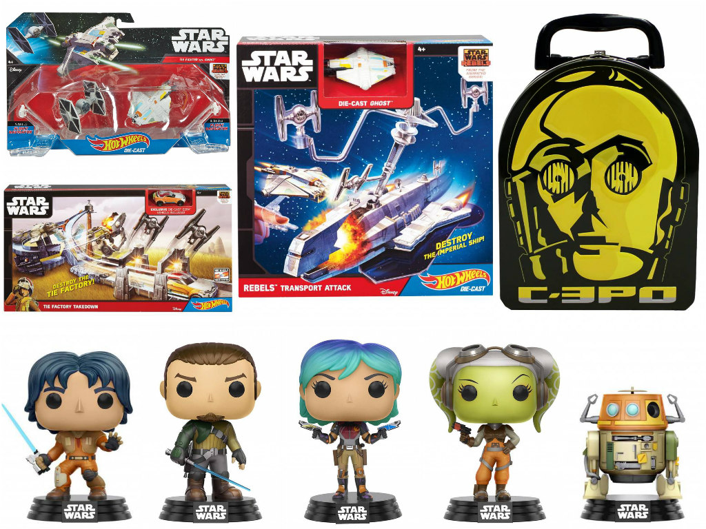 Star Wars: Rebels Toys