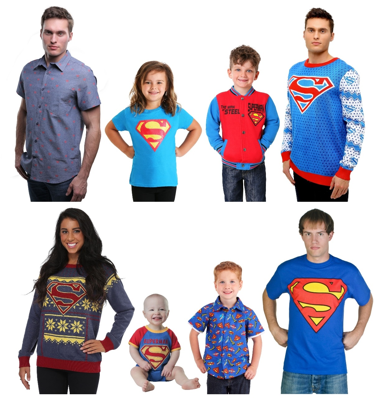 Superman Shirts for Kids and Adults