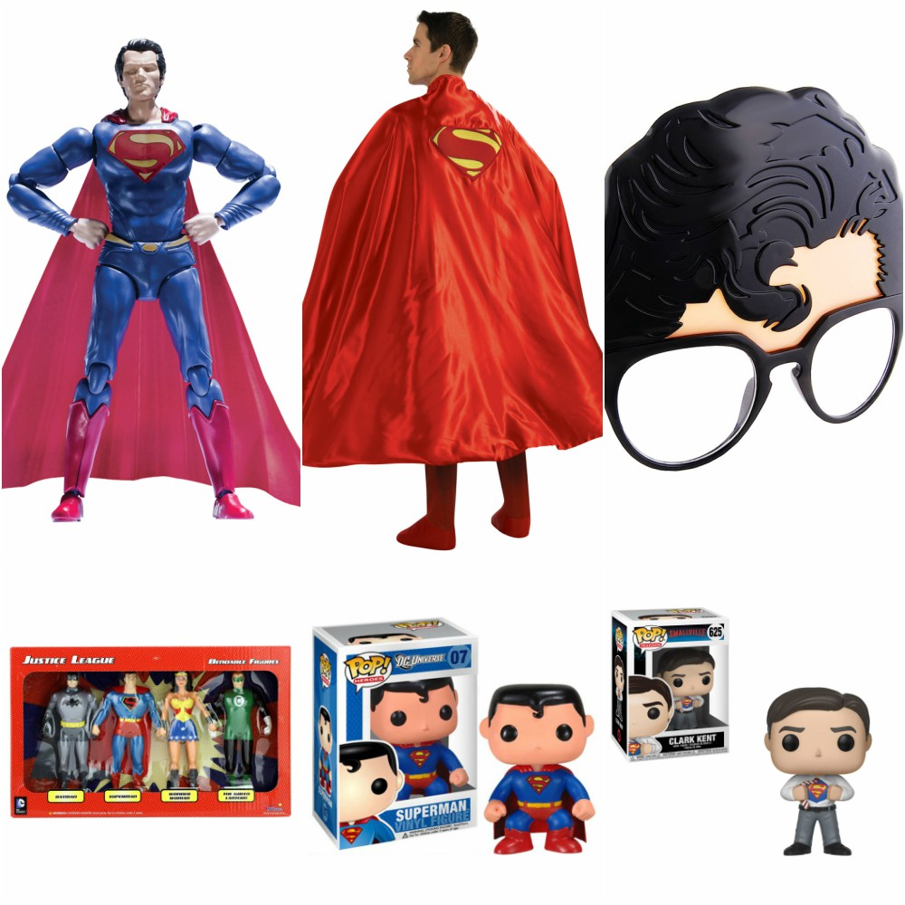 Superman Toys and Collectibles