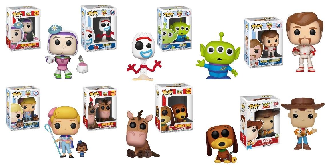 Funko Pop! Toy Story figures