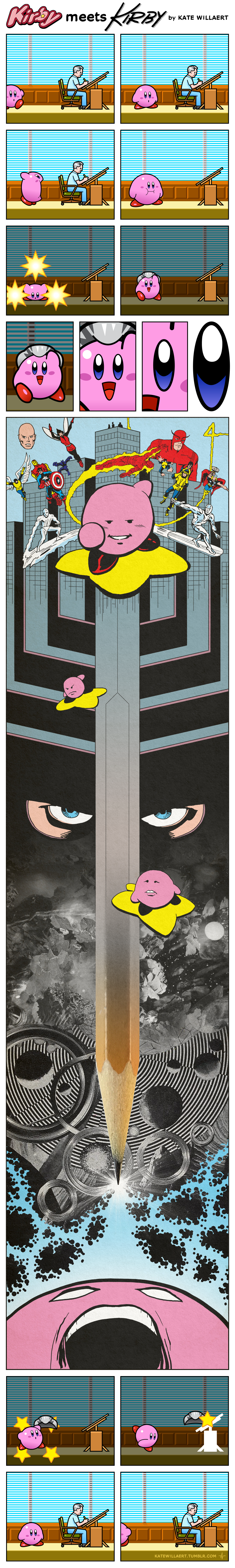 Kirby Meets Kirby by Kate Willaert