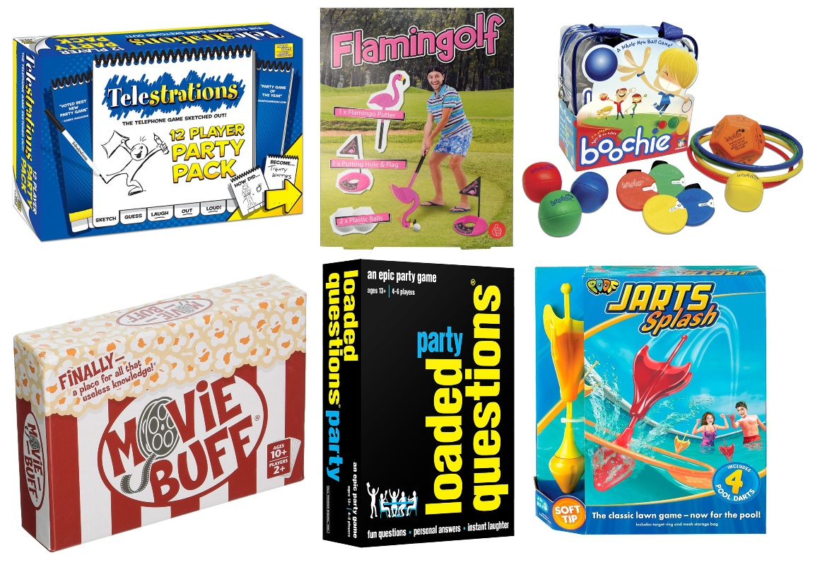 Party Games and Outdoor Games
