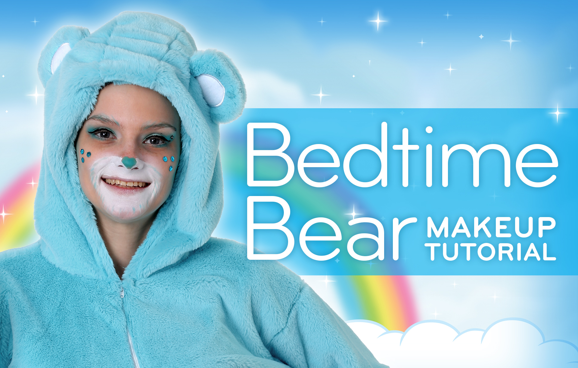 Bedtime Bear Makeup Tutorial