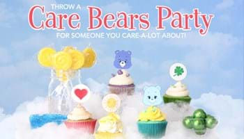 Throw a Care Bears Party for Someone You Care-a-Lot About! [Printables]