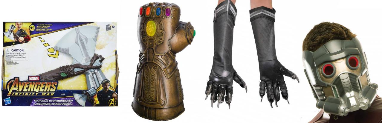 Marvel Avenger's Props